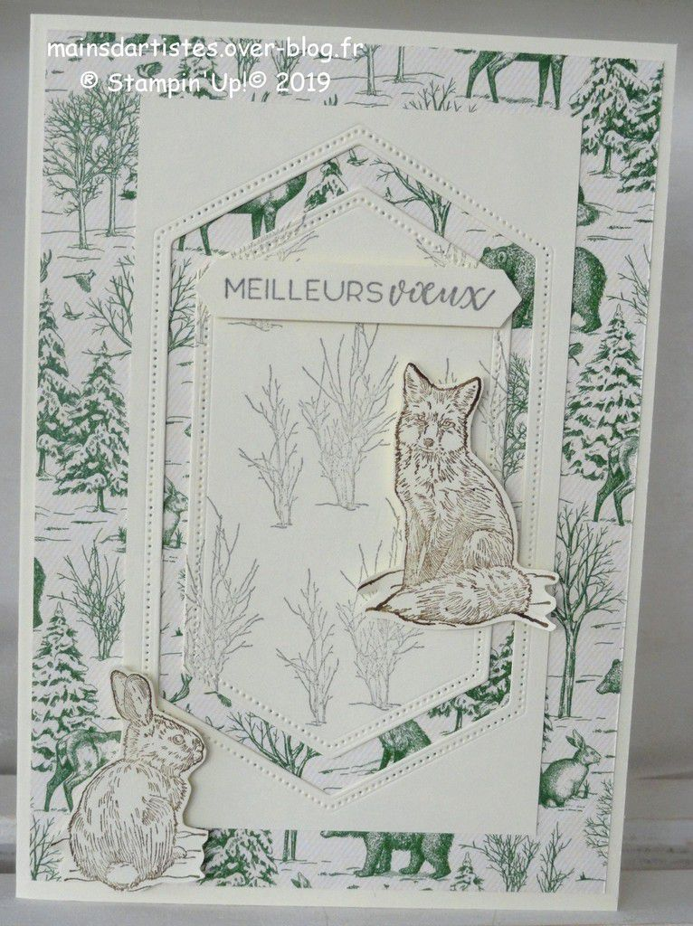PAPIER TOILE TRADITIONNELLE,STAMPIN'UP!.