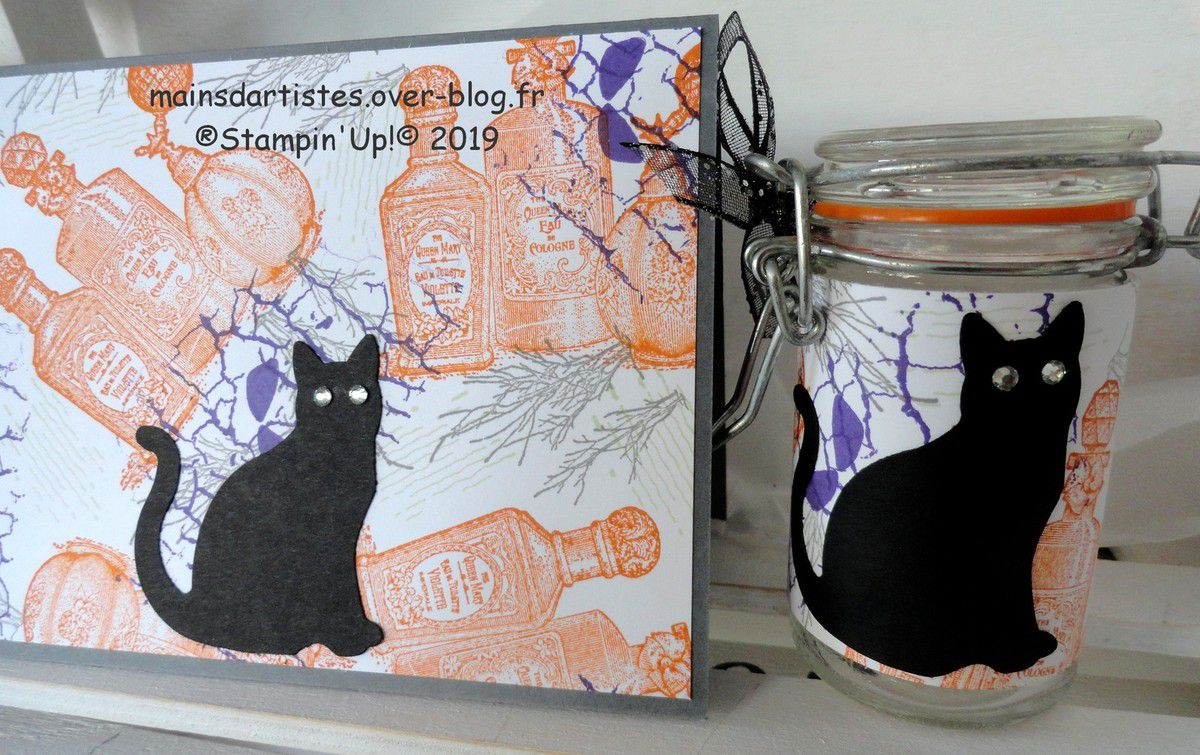 MES CREATIONS HALLOWEEN,STAMPIN'UP!.