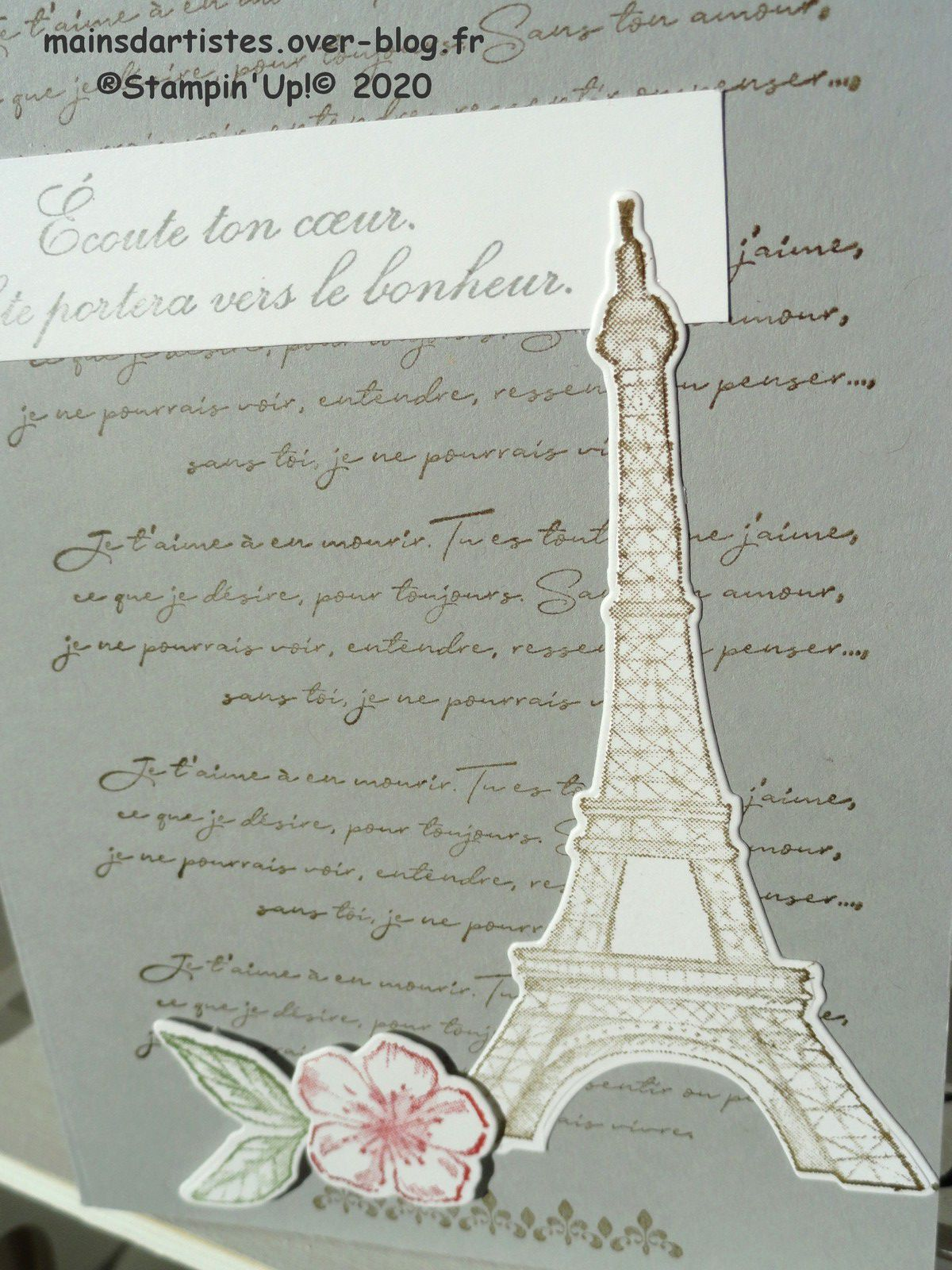 BEAUTE PARISIENNE,STAMPIN'UP!.