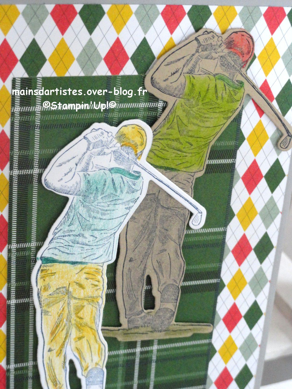 COLLECTION TENUE DE GOLF,STAMPIN'UP!