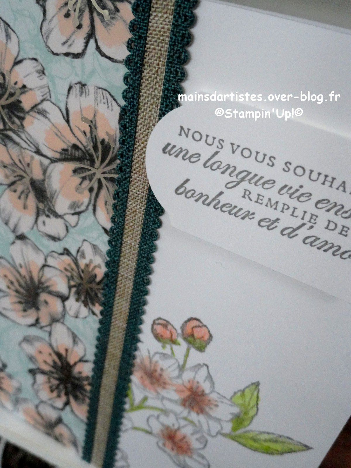 FLEURS POUR TOUJOURS,STAMPIN'UP!.