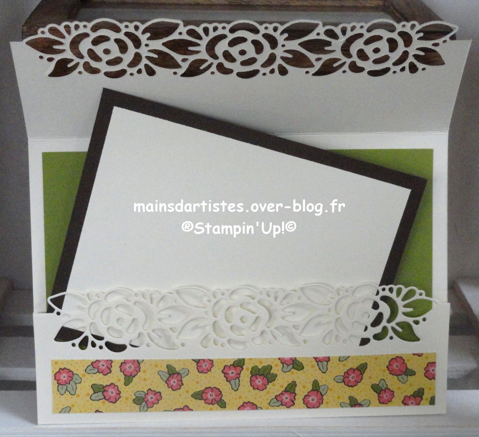 COLLECTION JARDIN ORNEMENTAL ,STAMPIN'UP!