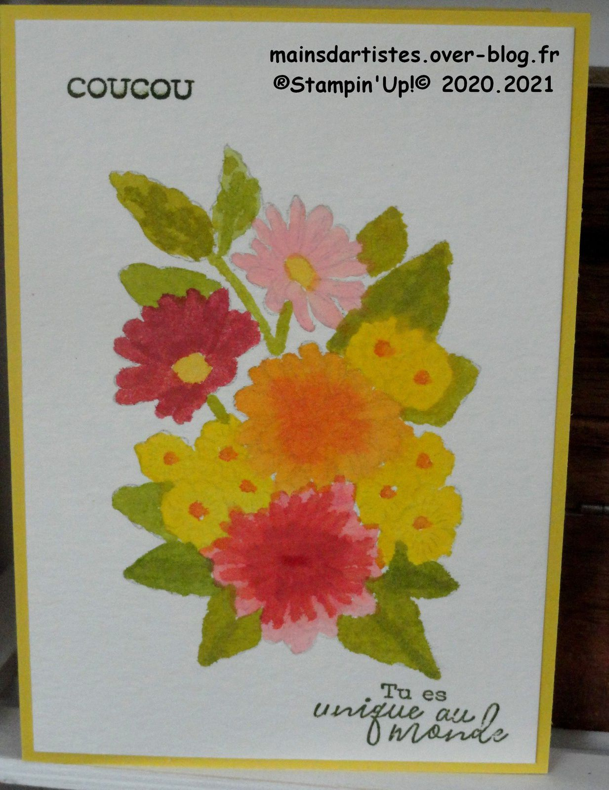 """ORNATE STYLE,AQUARELLE,STAMPIN""""UP!"""