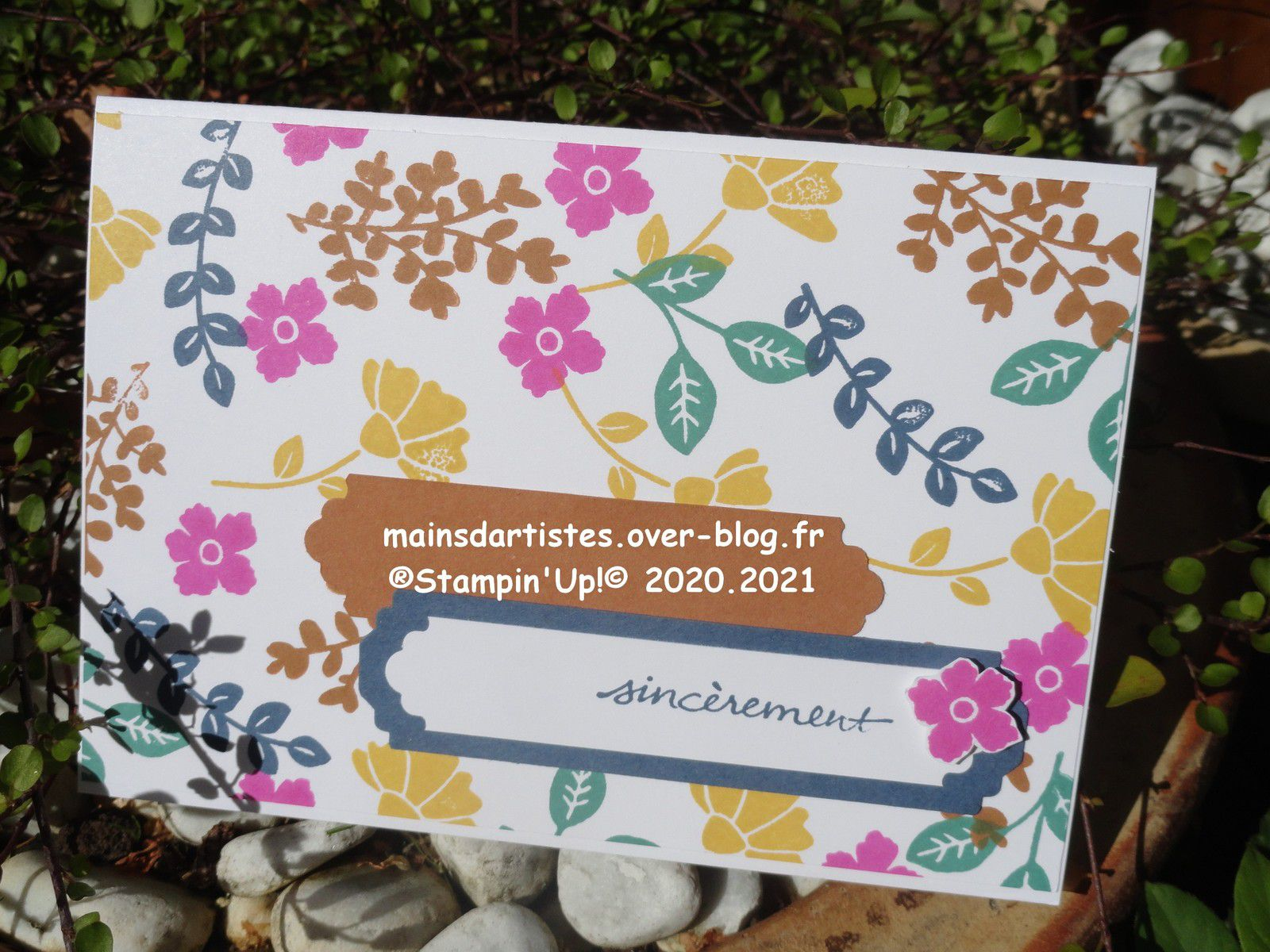 CHARMANTE AMIE,STAMPIN'UP!