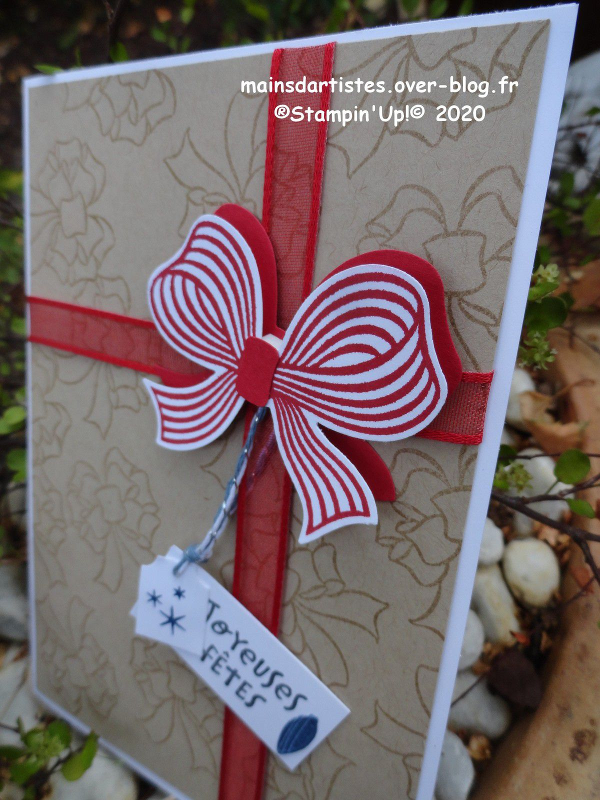 ENVELOPPE D'AMOUR,STAMPIN'UP!.