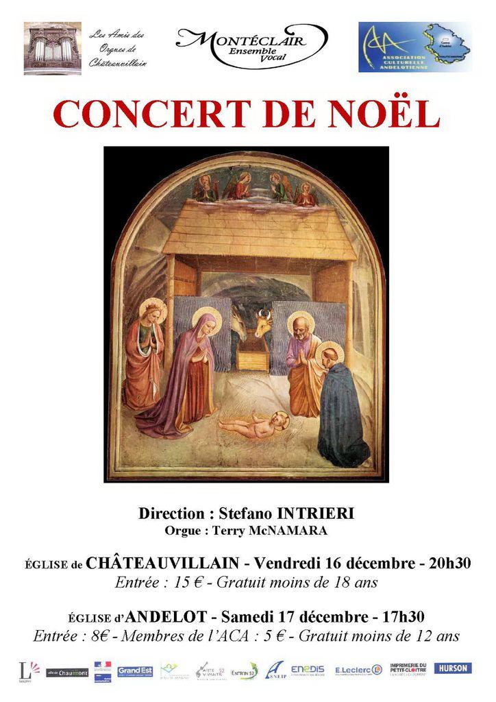 Concert de Noël de décembre 2016. Les mêmes concerts seront redonnés en janvier 2017 à Changey (07/ 01) et à Arc en Barrois (08/01). Vous pouvez télécharger la description de ces concerts ci-dessous.