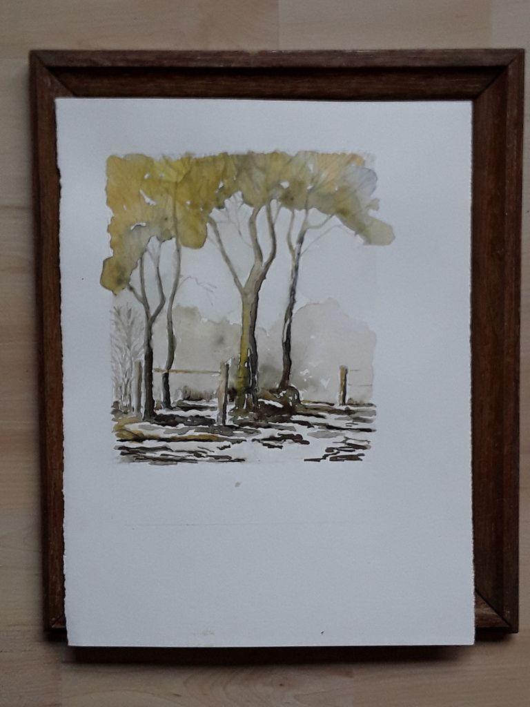 """Mon expo 19.  """"Auprès de mon arbre"""""""