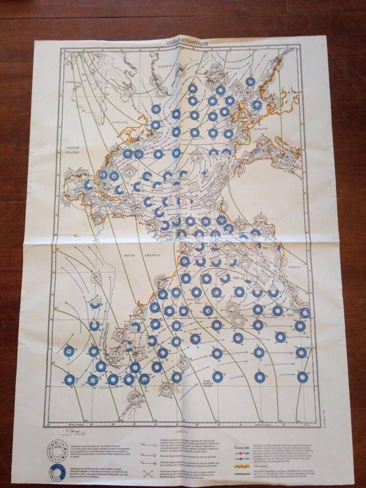 Carte des précipitations