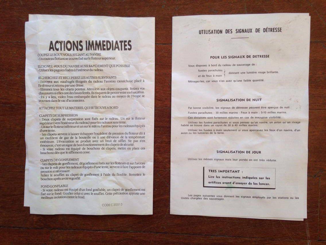 Listing des actions à mener et rappels