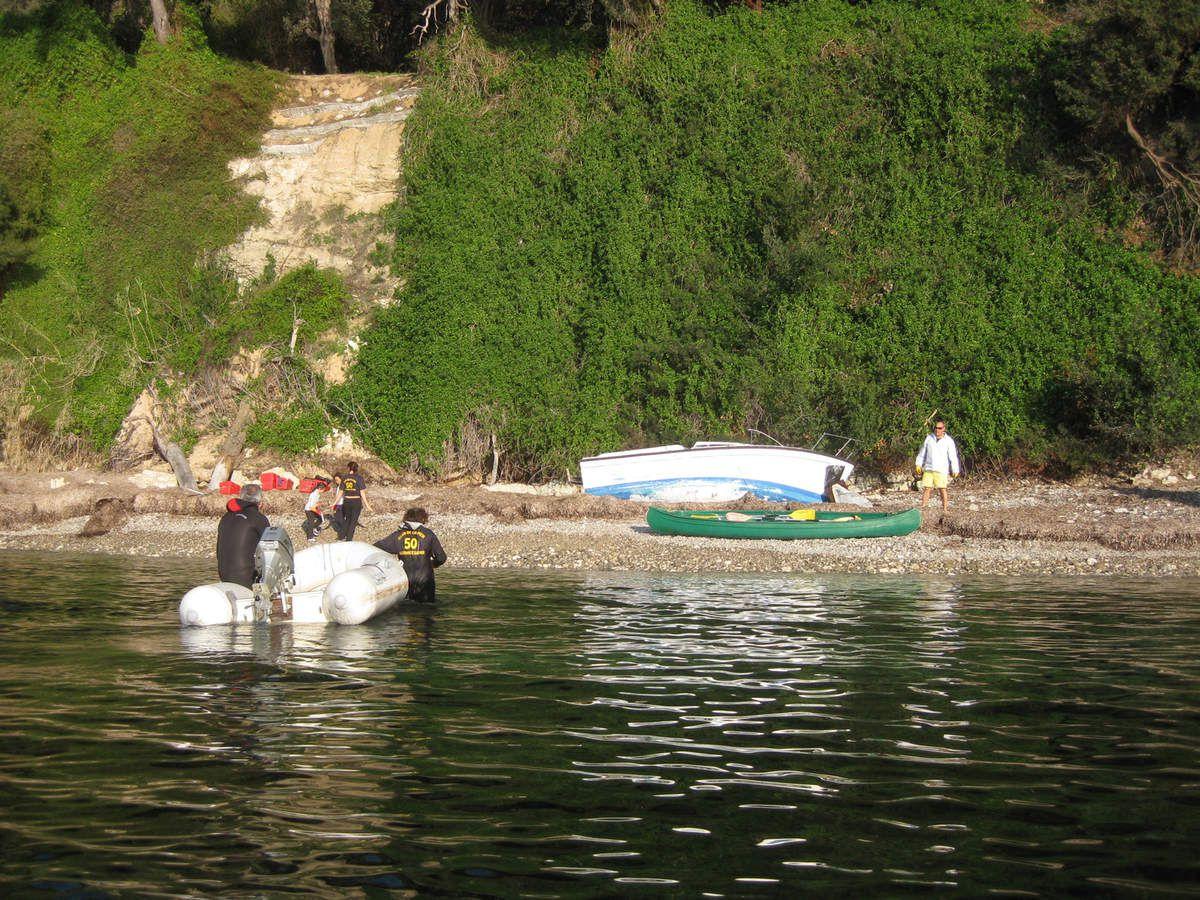Opération Plage Propre - Baie de l'Espalmador