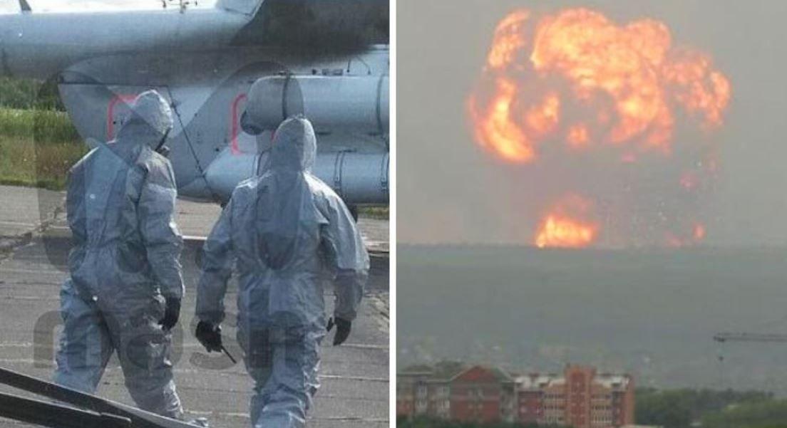 Explosion radioactive au nord de la Russie le 8 août 2019