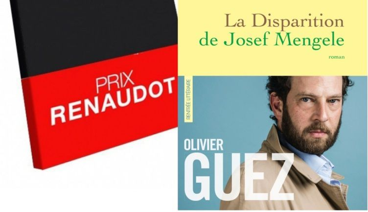 Olivier Guez, Prix Renaudot 2017