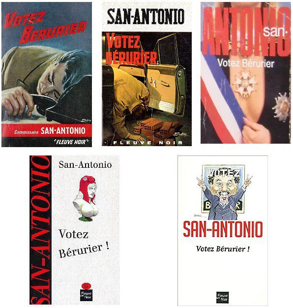 Votez Bérurier ! de San-antonio