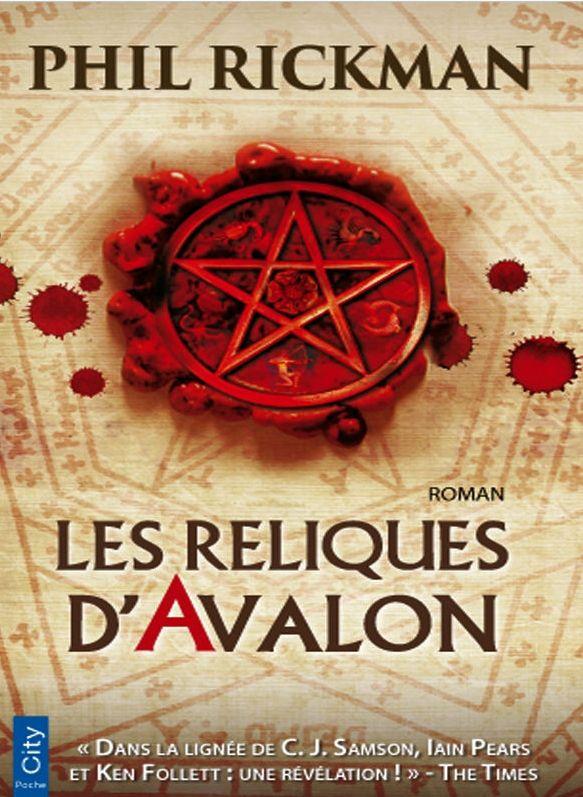 Les-reliques-d-avalon-phil-rickman-audetourdunlivre.com