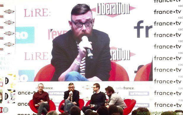 François Bégaudeau-Joseph Ponthus-Nicolas Mathieu-salon-du-livre-2019-audetourdunlivre.com