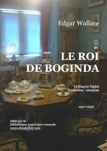 Le roi de boginda-edgar wallace-audetourdunlivre.com