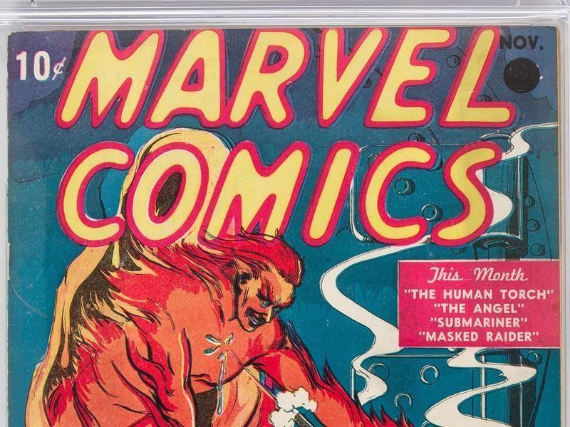 Une copie originale du premier «Marvel Comics» a été vendue 1, 26 millions de dollars par la maison Heritage Auctions