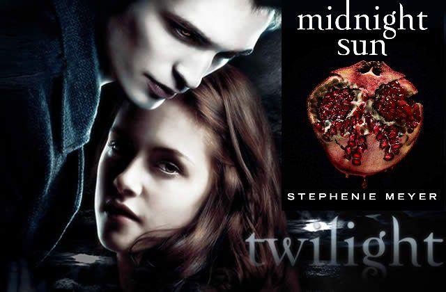 "Twilight - stephenie Meyer - sortie de Midnight sun - ""www.audetourdunlivre.com"""