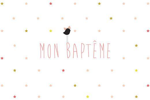 Faire Parts De Baptême Modernes Et Originaux Dress Me And My