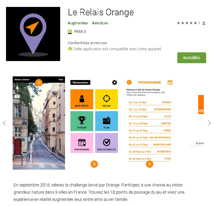 Le relais orange Bordeaux
