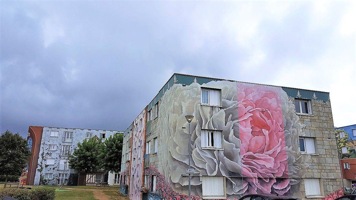 les fresques de bel air à chartres