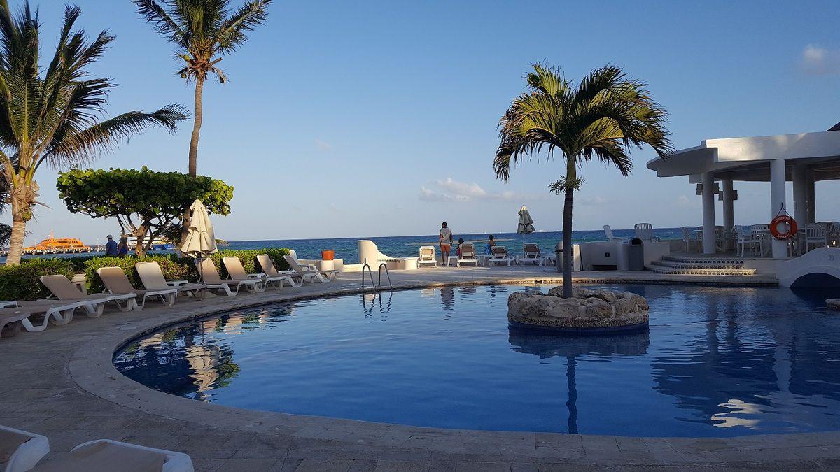 appart bord de mer pas cher playa del carmen avec piscine
