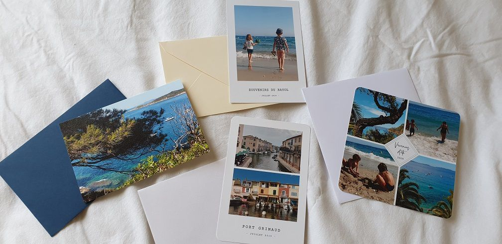 sur quels sites faire des cartes postales personnalisables