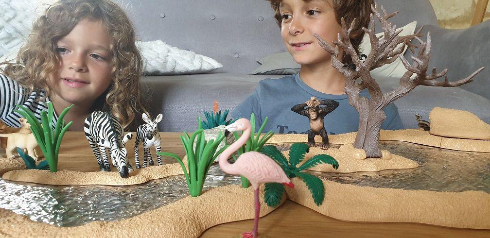 Gamme wild life sur la savane des figurines schleich