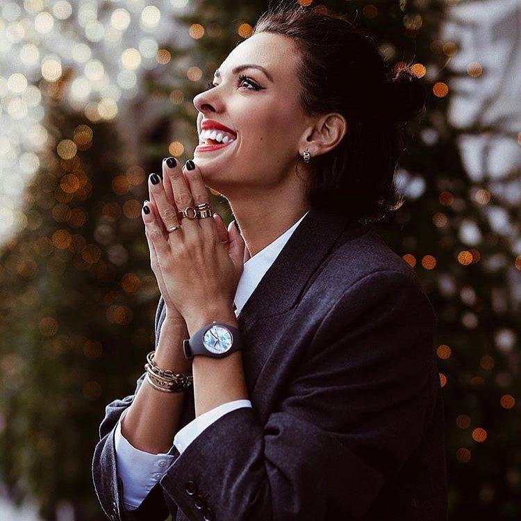 montres rondes pour les femmes