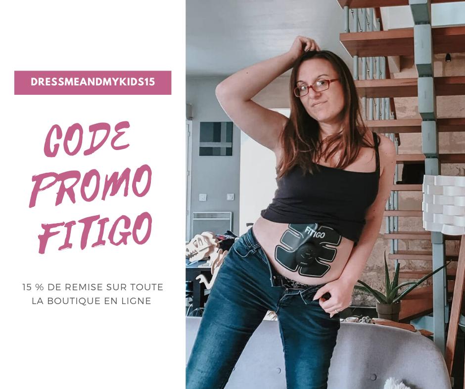 réduction fitigo avec le code promo dressmeandmykids15 pour commander sur le site