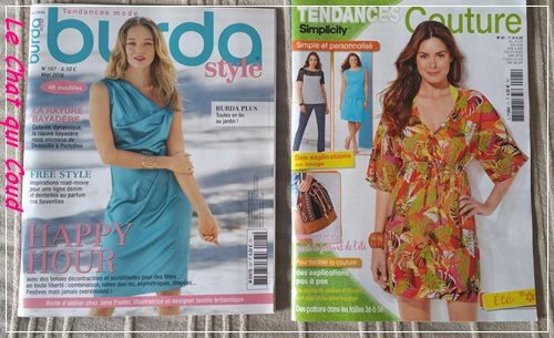 Magazines du mois de Mai
