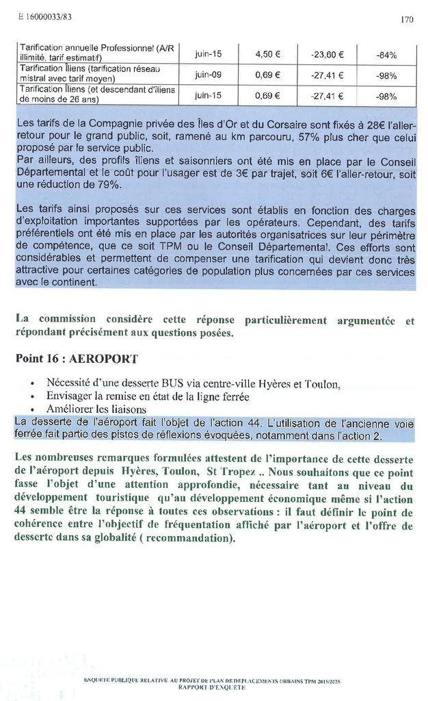 Plan de Déplacement Urbain de TPM : les conclusions de l'enquête publique pour les îles