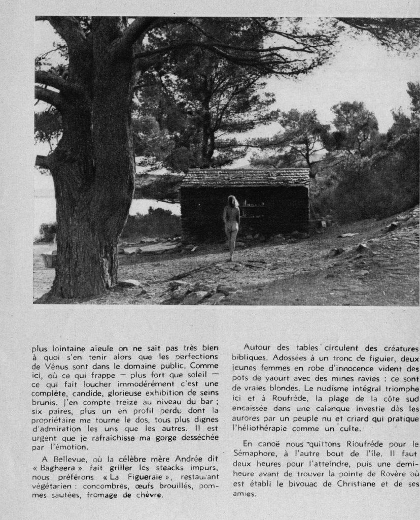 Dans une revue XX vers 1950. Coll. personnelle