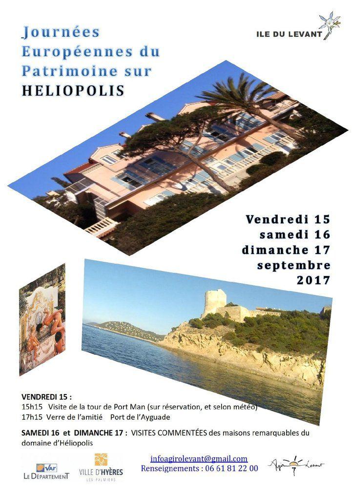 Journées Européennes du Patrimoine sur l'île du Levant et....