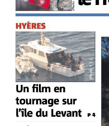 C'était la semaine dernière : Tournages au Levant