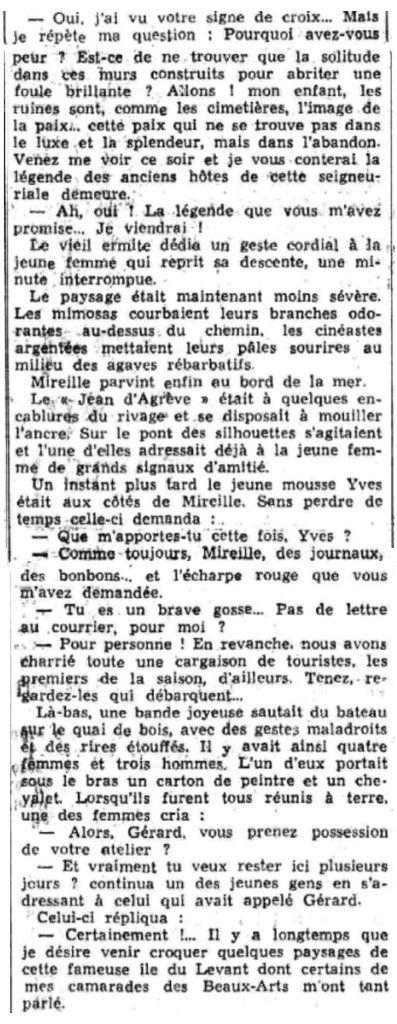LE PETIT DAUPHINOIS du 10 novembre 1940. Source : http://www.lectura.plus/