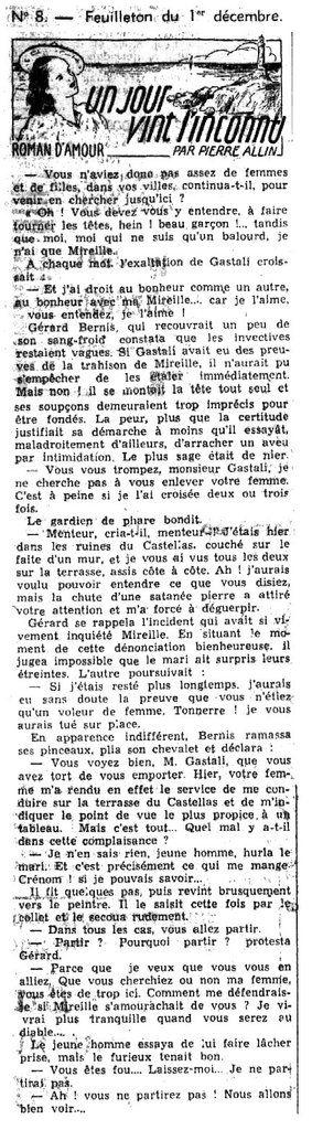 LE PETIT DAUPHINOIS du 1er décembre 1940. Source : http://www.lectura.plus/