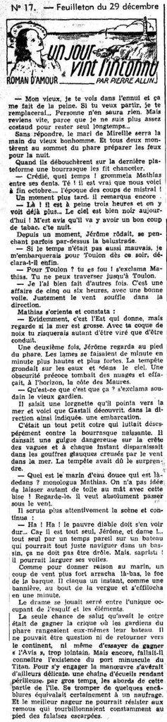 LE PETIT DAUPHINOIS du 29 décembre 1940. Source : http://www.lectura.plus/