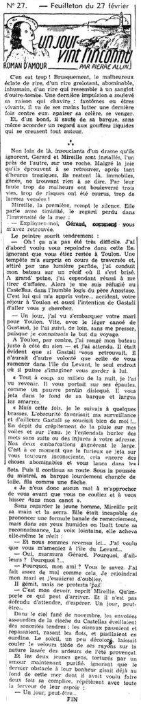LE PETIT DAUPHINOIS du 27 février 1941. Source : http://www.lectura.plus/