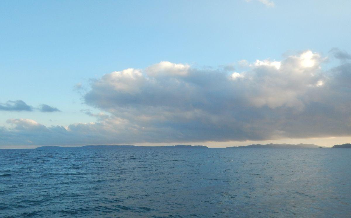 Lumières sur les îles du 26 décembre 2017
