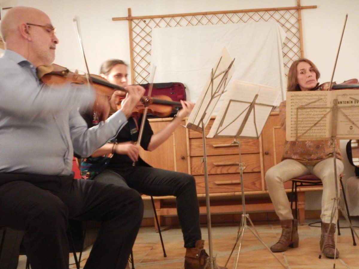 Un quintette en concert au Levant
