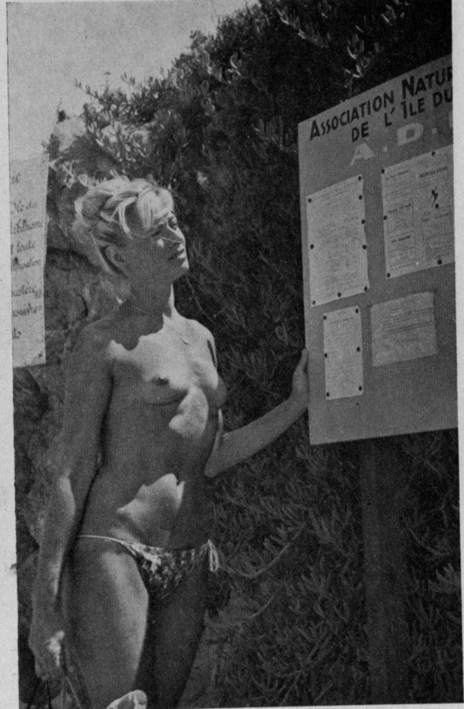 Guide Ile du Levant 1962
