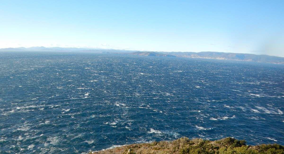 Coup de vent de NO - Rade d'Hyères