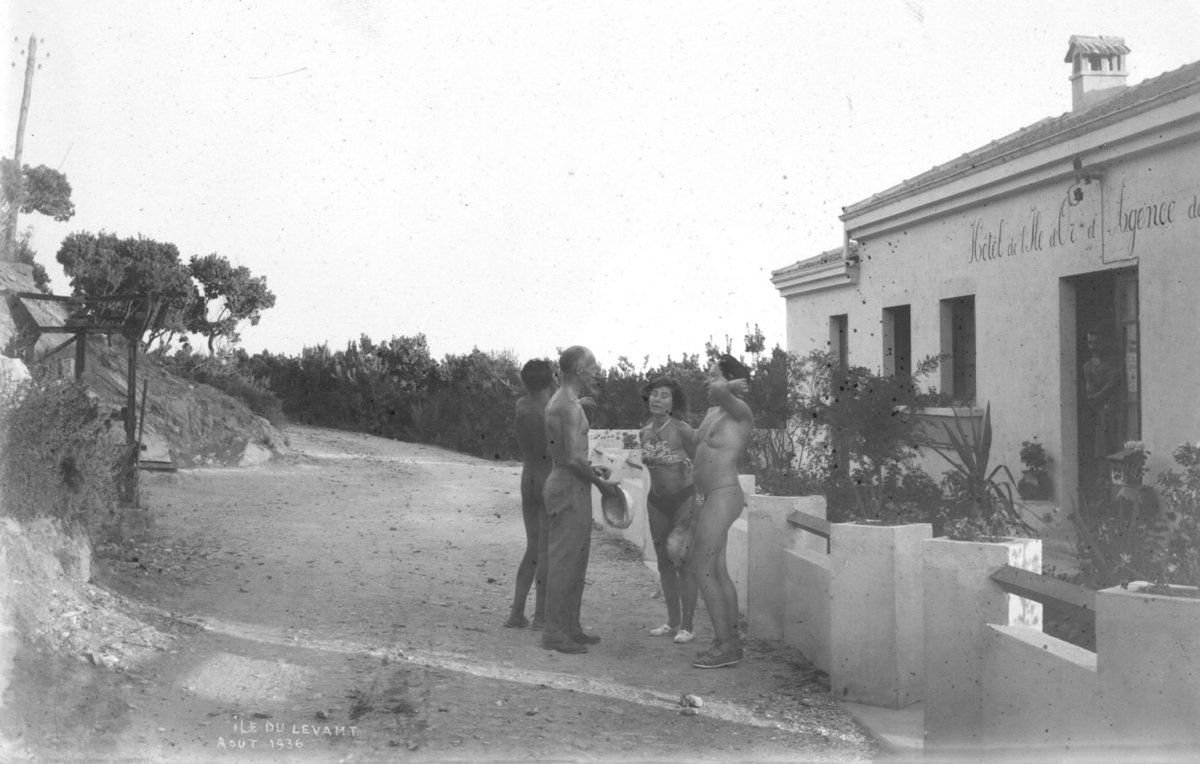 Août 1936 - Plaque photo - Coll. perso