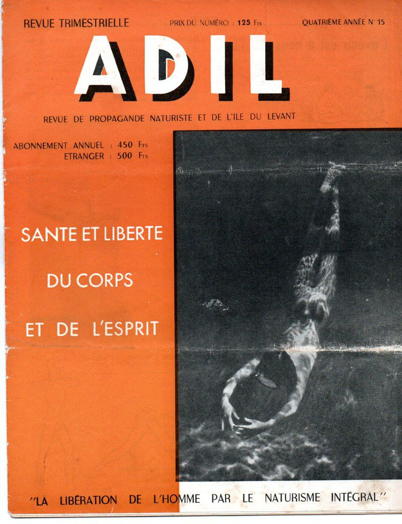 ADIL N°15 1953 - Coll. Perso
