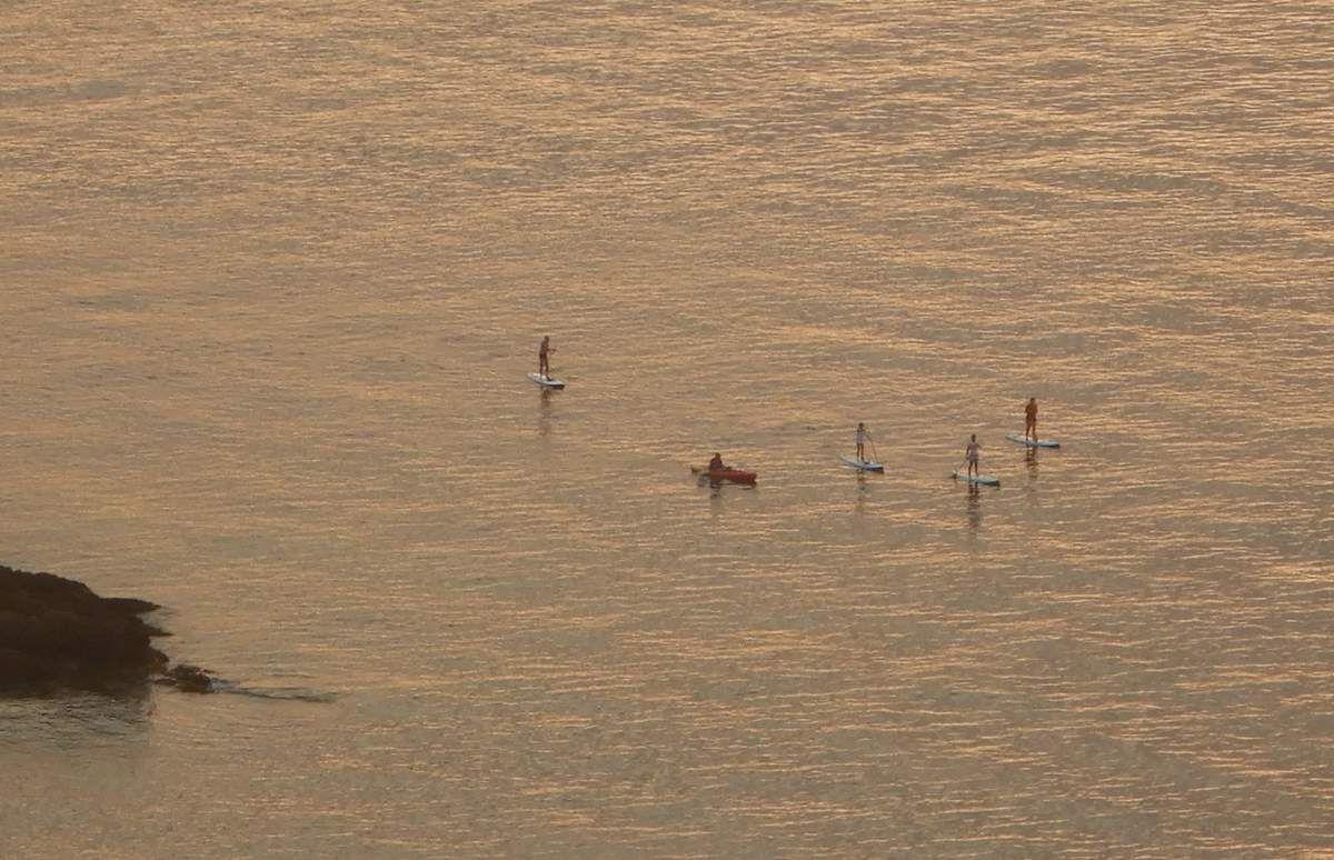 Fin de journée du 18 septembre :  4 SUP et 2 canoës mais où vont-ils ?