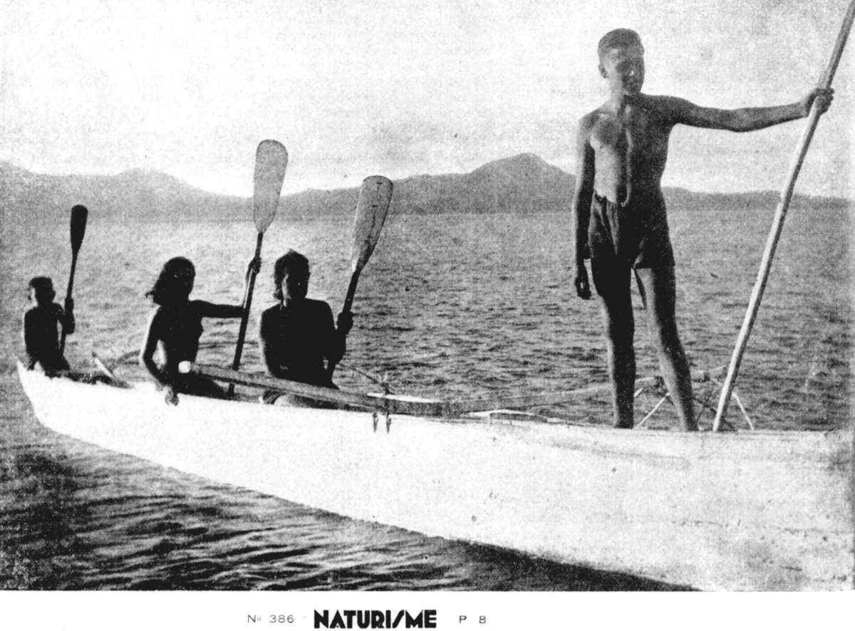 Des Levantins à Tahiti - 1936-1950