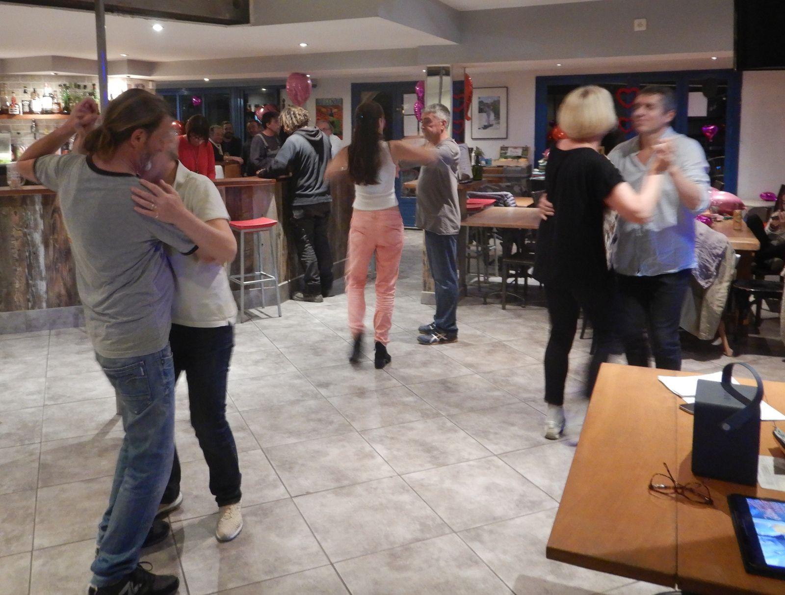 Cours de danse avec Claire