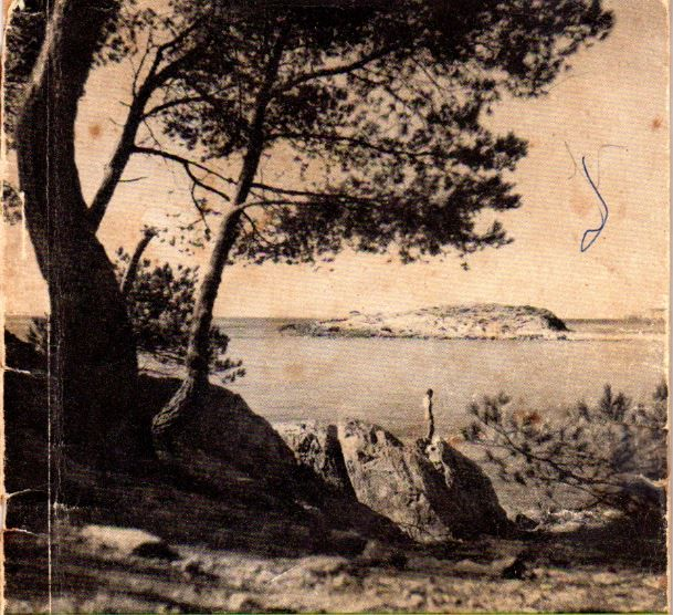 Photo de couverture du Guide illustré de l'île du Levant de Pierre Audebert 1950
