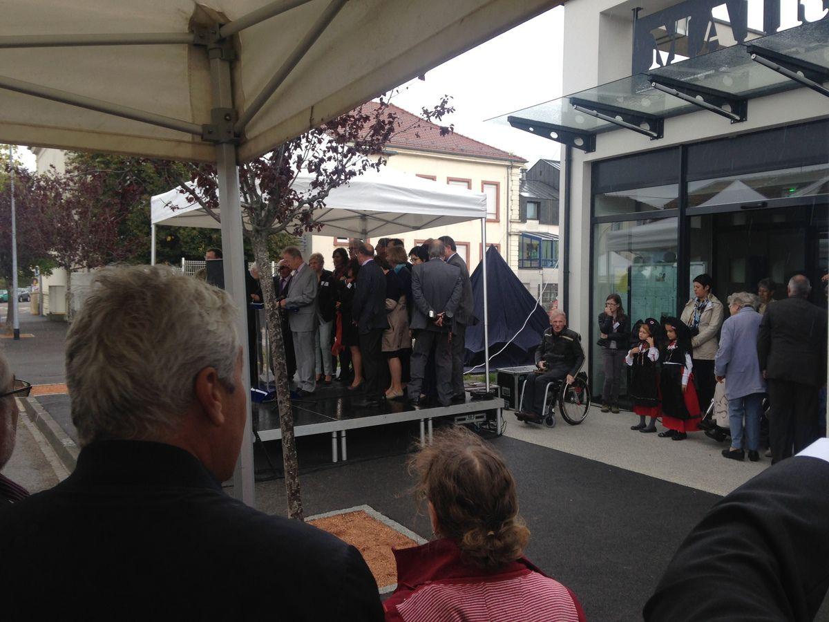 Pfastatt : Inauguration de la nouvelle mairie